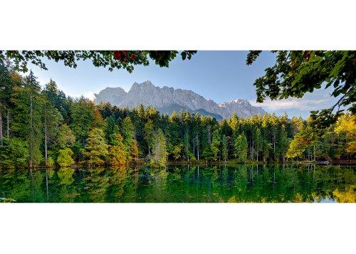 Badersee in Grainau, Oberbayern